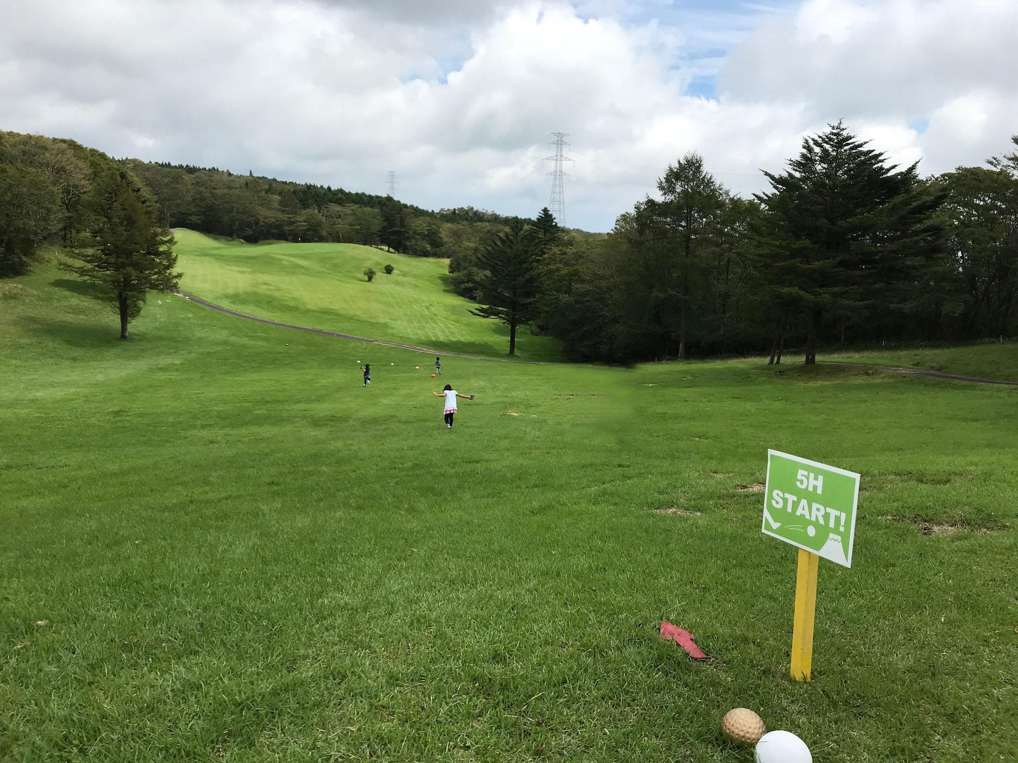 はじめてのフットゴルフ