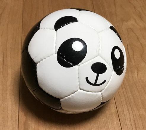 家の中で使えるサッカーボール